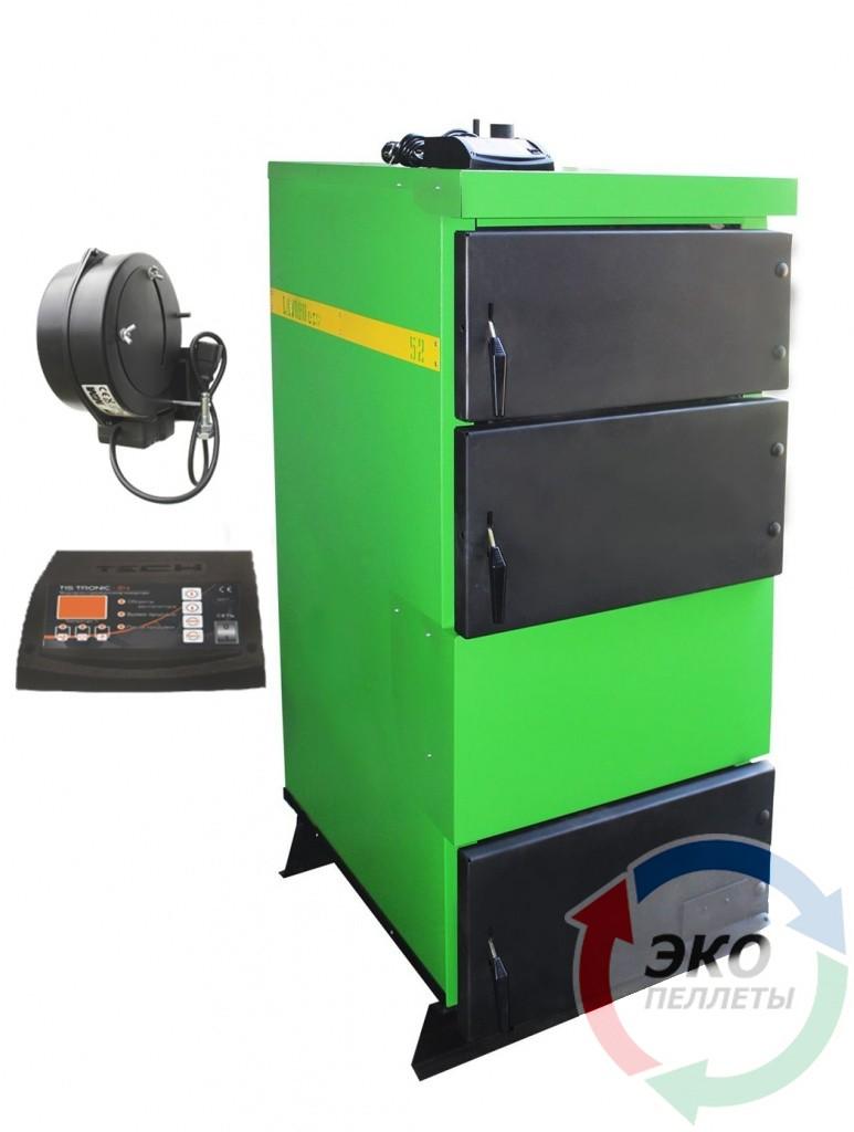 Lavoro (Лаворо) Eco L-52 — бытовой котел длительного горения с автоматикой серии L