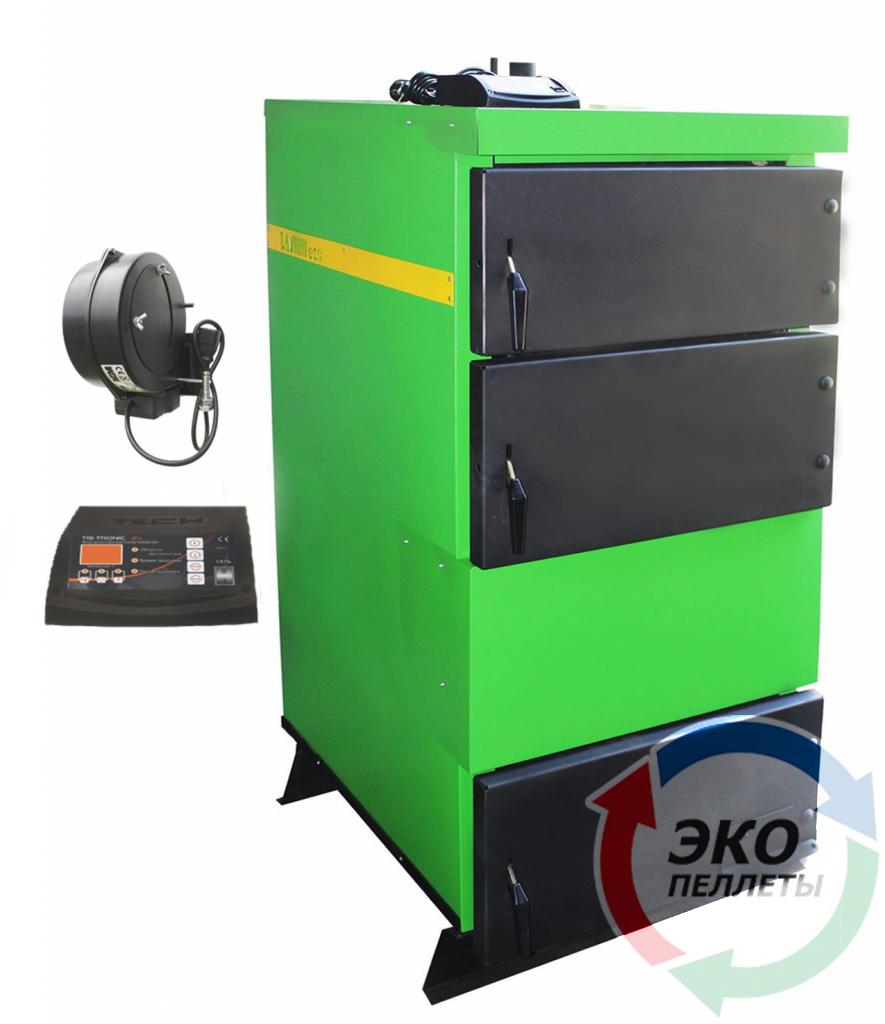 Промышленный пиролизный полуавтоматический котел Lavoro (Лаворо) Eco L-72