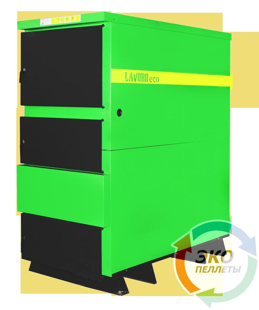 Lavoro (Лаворо) Eco L-120 — Промышленный пиролизный полуавтоматический котел