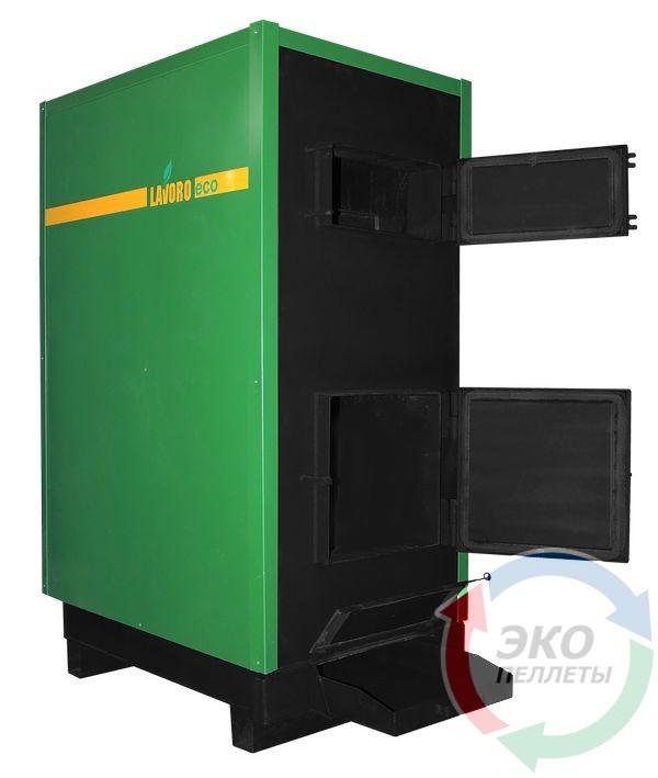 Промышленный пиролизный котел с автоматикой Lavoro (Лаворо) Eco С102