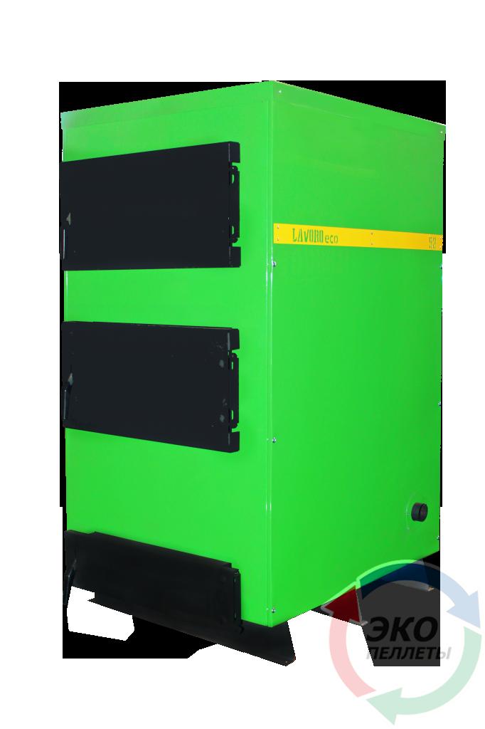 Бытовой современный пиролизный котел Lavoro (Лаворо) Eco С52-new