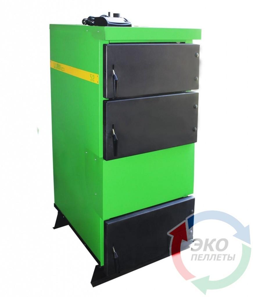 Бытовой пиролизный котел с автоматикой Lavoro (Лаворо) Eco L-42